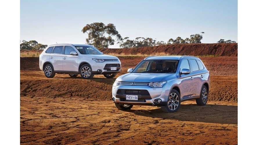 Mitsubishi Outlander PHEV To Compete In Australasian Safari