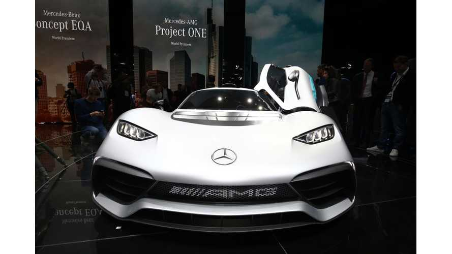 Mercedes-AMG Allegedly Decided Not To Build Project One Roadster