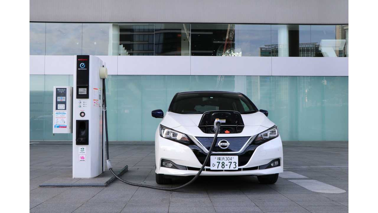 Europe Overtakes Japan In Number Of CHAdeMO Chargers