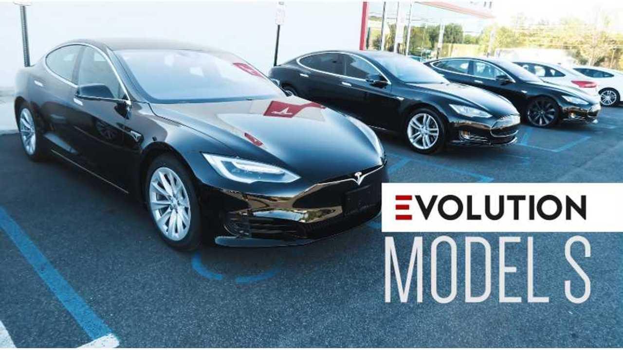 The Evolution of the Tesla Model S (2013 - 2016) - Black Tesla