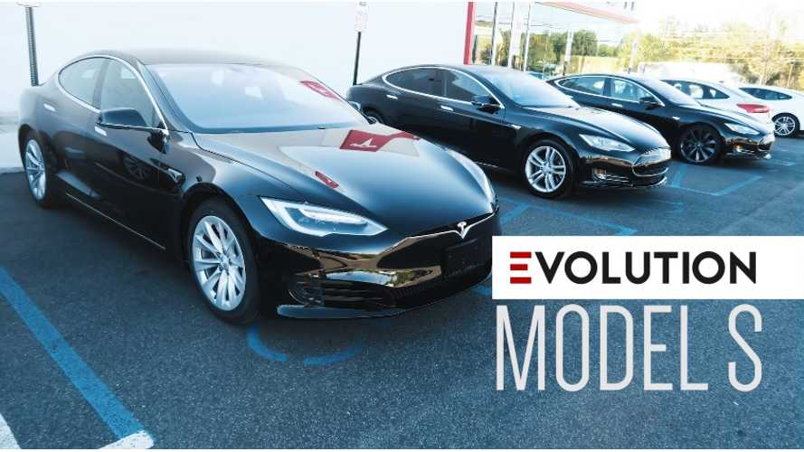Video Documents The Evolution Of Tesla Model S From 2013-2016