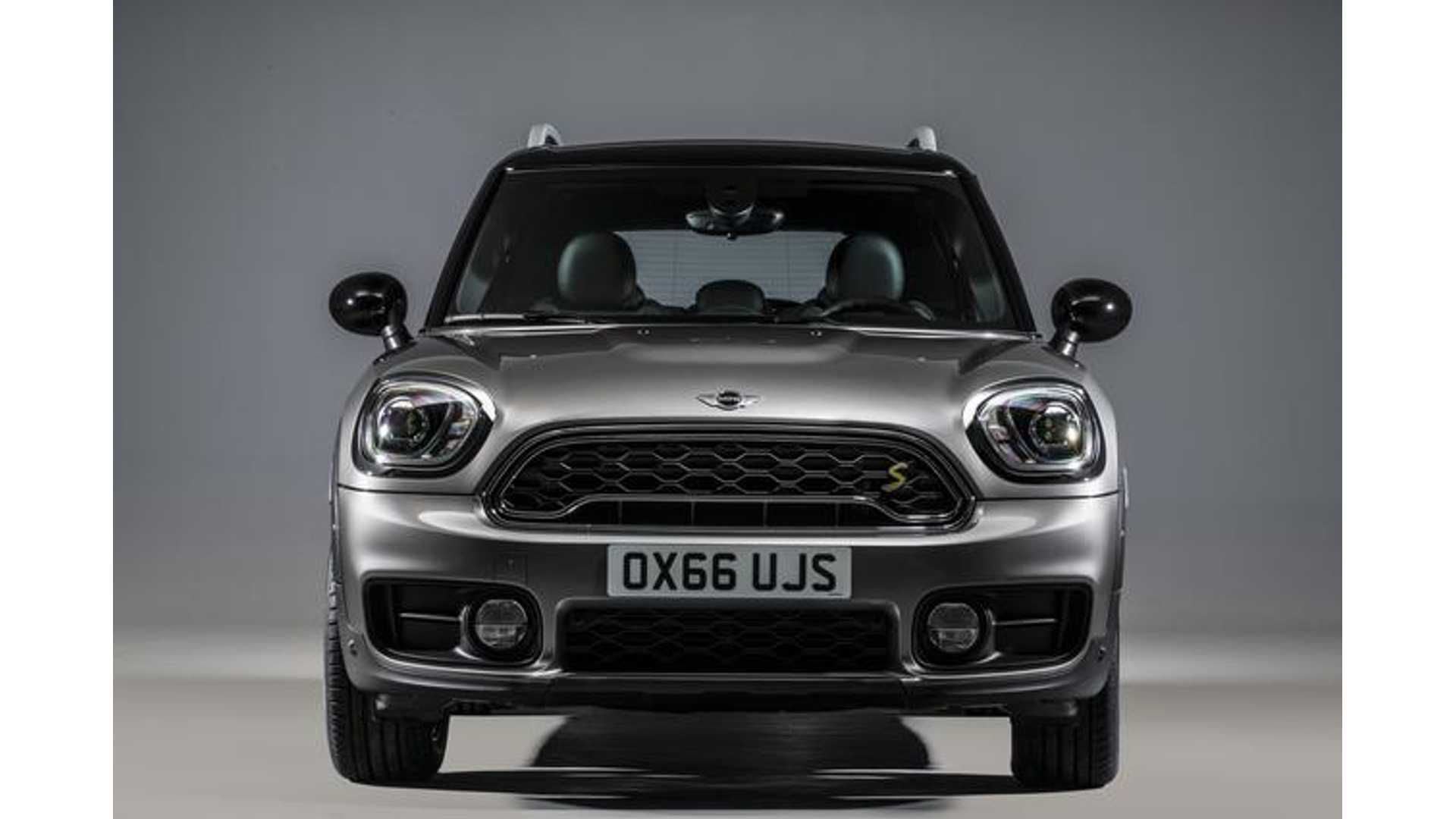 2017 Mini Cooper S E Countryman All4 Unveiled Phev Boasts Up To 24