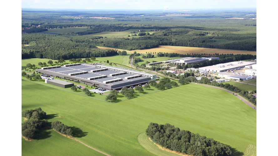 Construction Begins On Huge Battery Factory For Upcoming Mercedes-Benz EQ