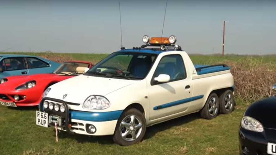 YouTuber Captures Bizarre Renault Clio Pickup
