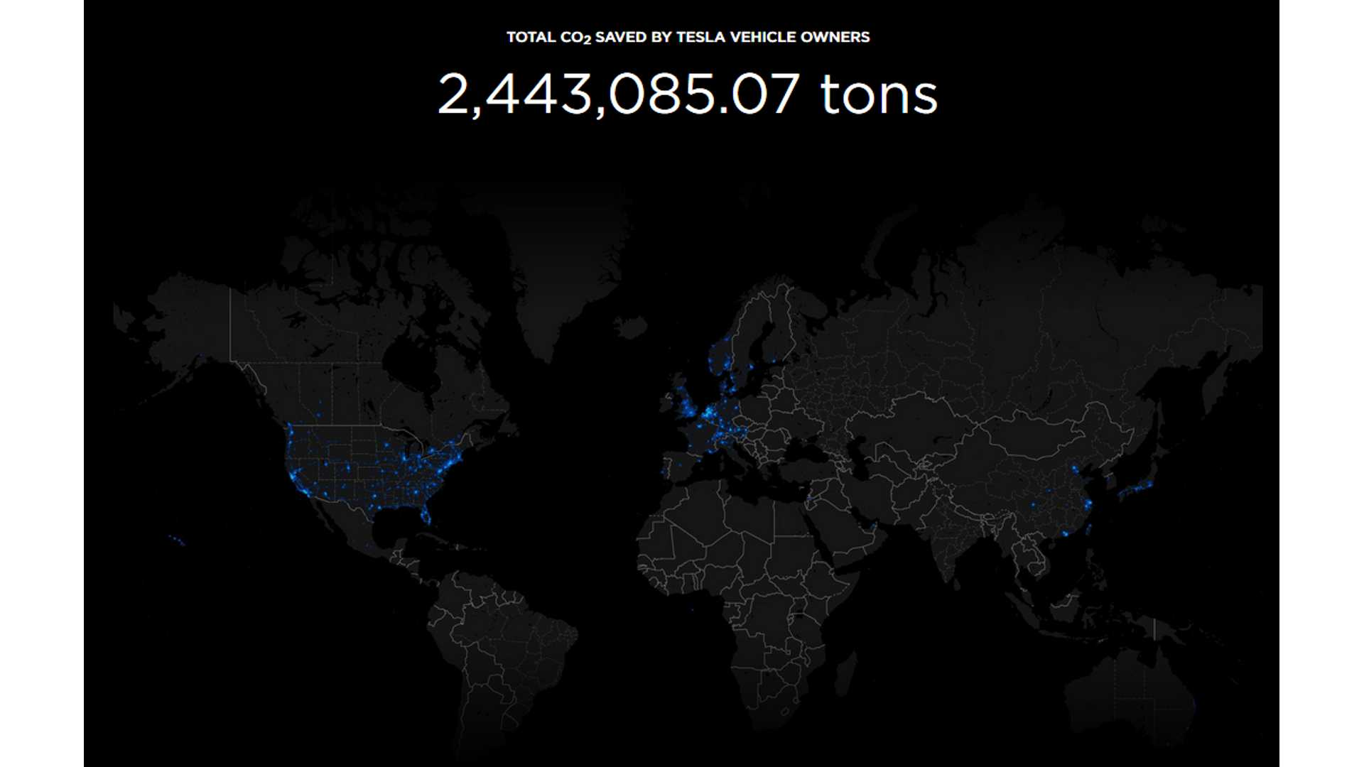 Check Out Tesla's Carbon Impact Map: Top Cities, Countries Tallied