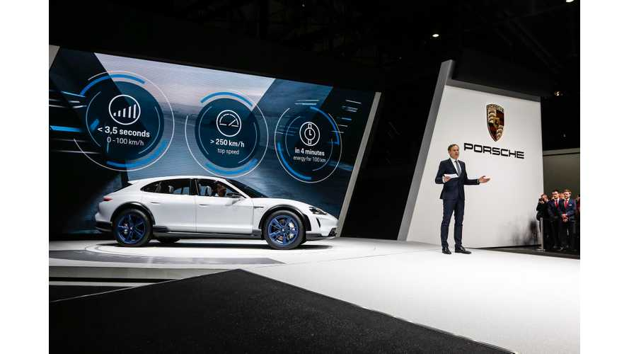 Porsche Cross Turismo Gains 250 Miles Of Range On 15-Minute Charge