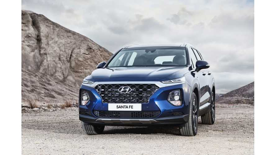 Hyundai Santa Fe Plug-In Hybrid Coming After 2019