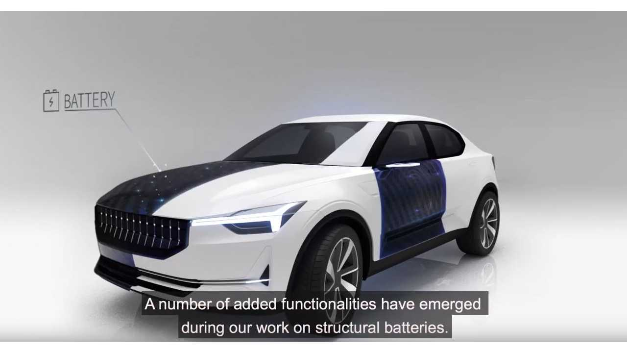 What If An Electric Car Could Use Its Body As A Structural Battery?