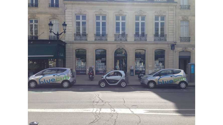 Renault Twizy Joins Bluecub EV Car-Sharing Fleet