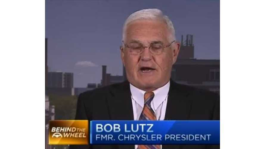 Bob Lutz On Tesla Motors (Video)