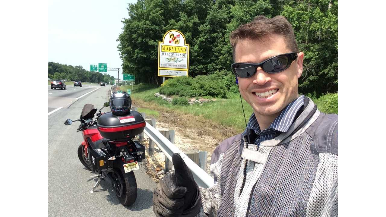 Three Country Tour on an Electric Motorcycle – Charging