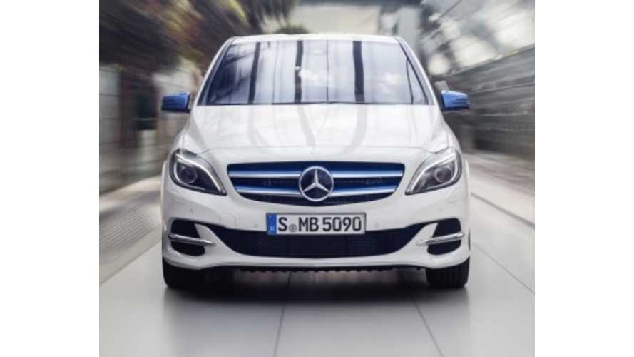 Daimler CEO: B-Class ED Comparable To BMW i3, But Mercedes'