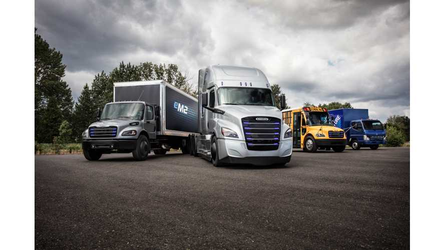 "Daimler Will Have ""Higher Number"" Of Electric Trucks On Road Than Tesla"