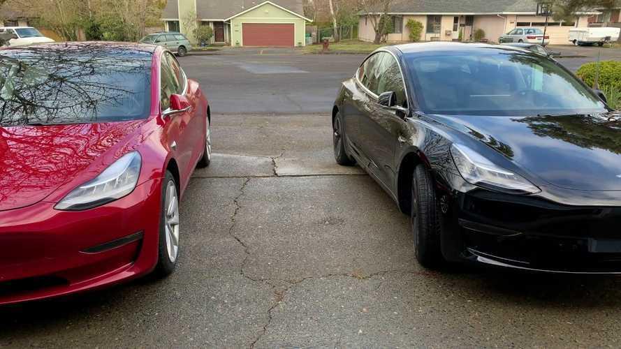 Tesla Model 3 Standard Plus vs. Long Range RWD Comparo: Video