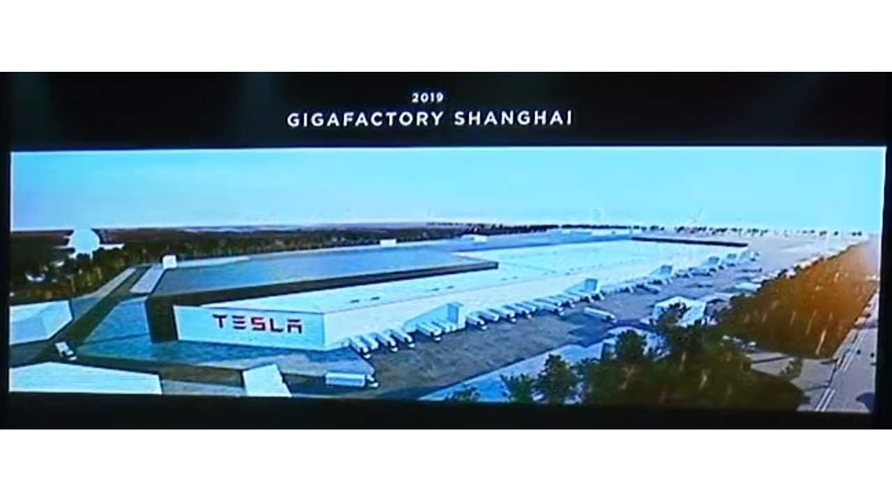 Tesla Gigafactory 3 Rises Up Out Of The Ground: Video