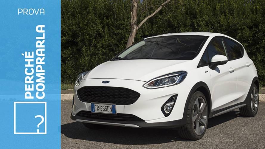 Ford Fiesta Active, perché comprarla… e perché no