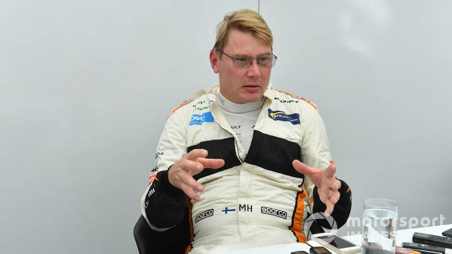 Hakkinen would only return to racing 'to kick some butt'