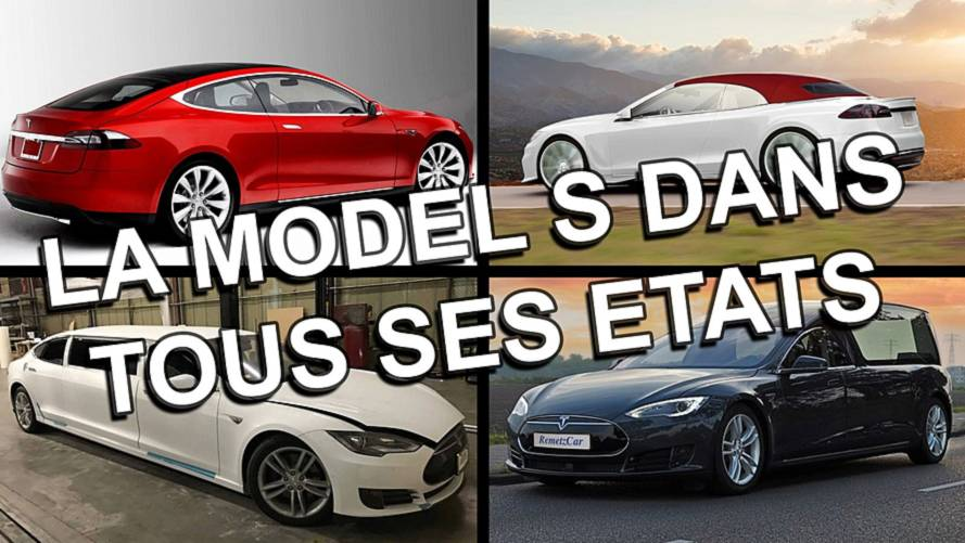 Cabriolet, corbillard, Shooting Brake... La Tesla Model S dans tous ses états