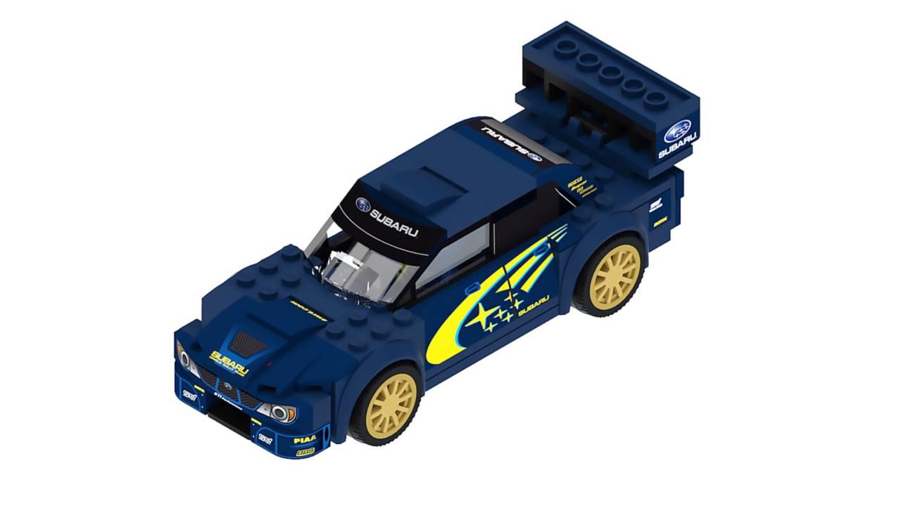 Subaru Este Queremos Que 2006 Wrx Se Con Wrc Lego De Anime Sti 3A5RjL4