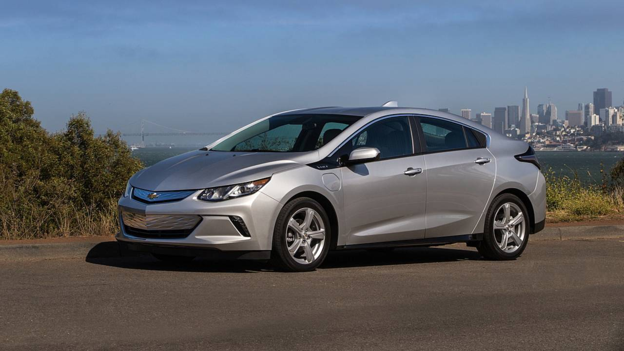 5. Chevrolet Volt: 34.3 days