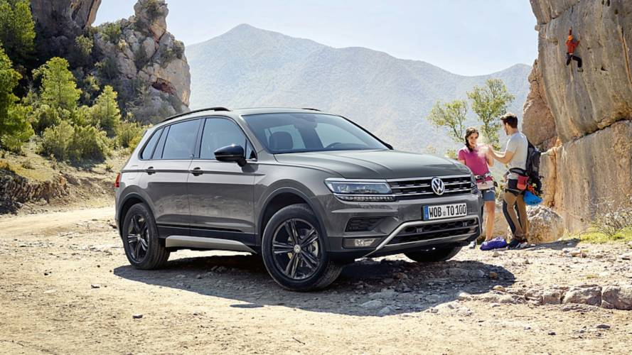 Neuer VW Tiguan Offroad krempelt die Ärmel hoch