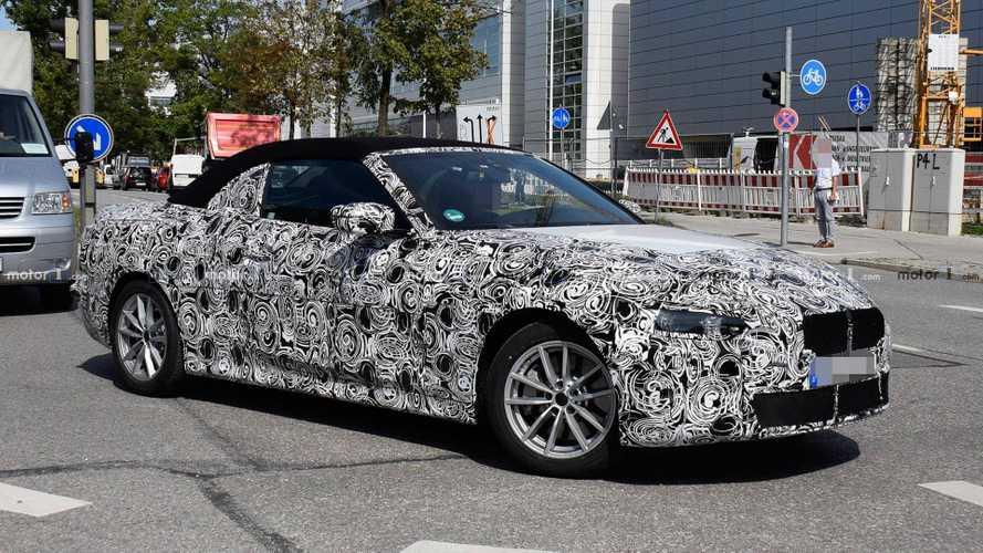 Yeni BMW 4 Serisi Convertible trafikte görüntülendi