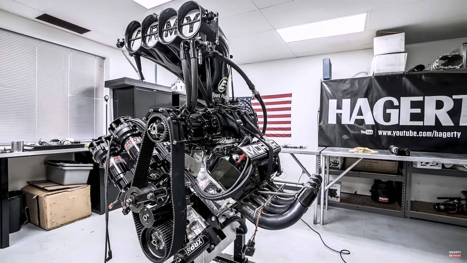 See This 11,000 Hp Dragster V8 Engine Get Rebuilt In 7 Minutes