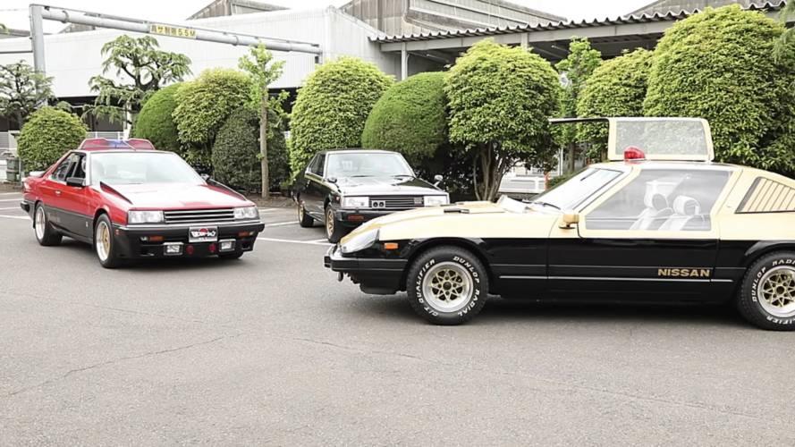 Nissan Heritage Police Cars