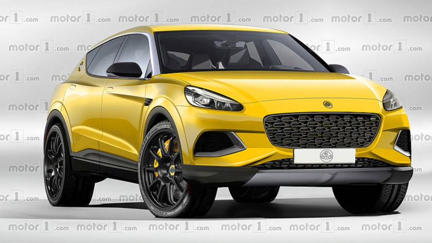 Lotus' first-ever SUV exclusively rendered