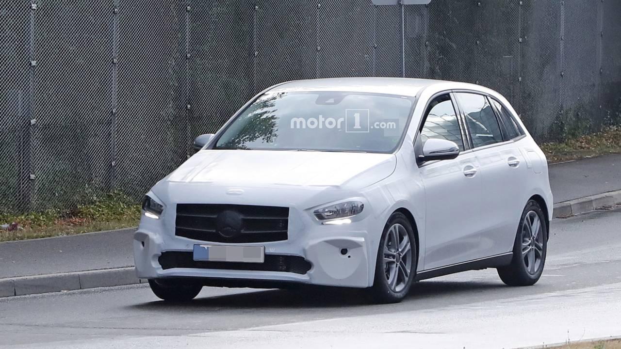 2019 Mercedes B-Serisi Yeni Casus Fotoğraflar