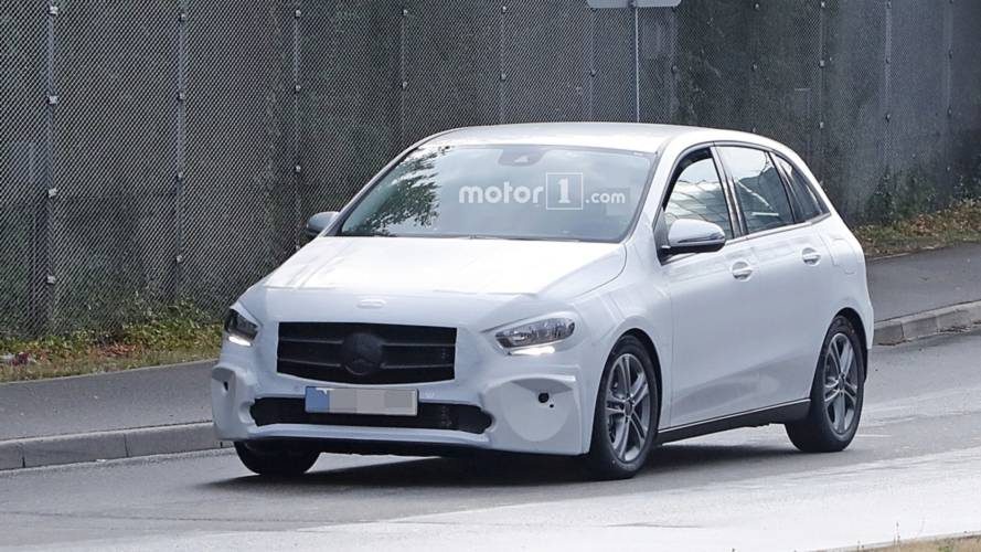 2019 Mercedes B-Class spied in most revealing shots to date
