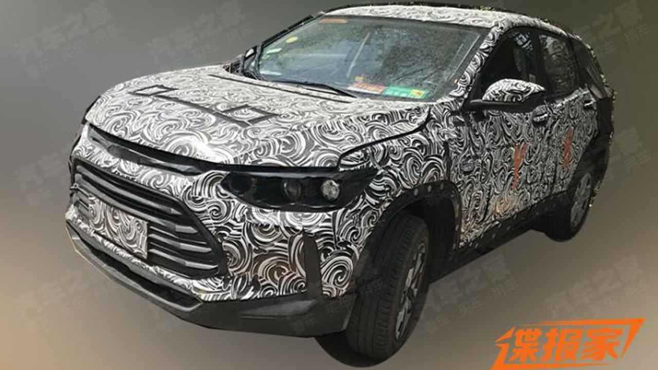 Novo Chevrolet Tracker 2020 - Flagra
