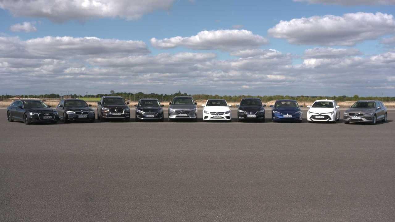10 Modelle im EuroNCAP-Test