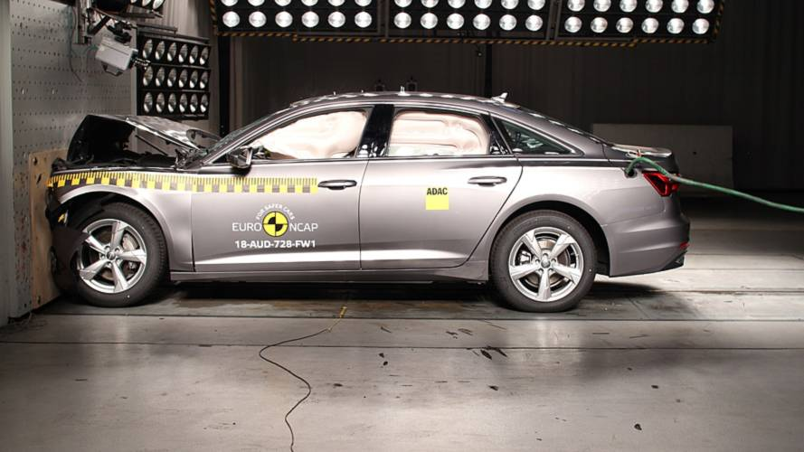 Audi A6, VW Touareg, Suzuki Jimny, Ford Tourneo Connect Euro NCAP crash test