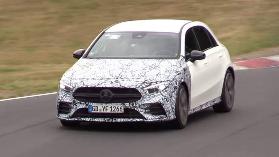 Watch Mercedes-AMG A35 go all out at the Green Hell