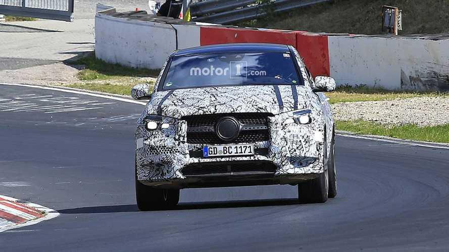 2020 Mercedes GLE Coupe yeni casus fotoğraflar