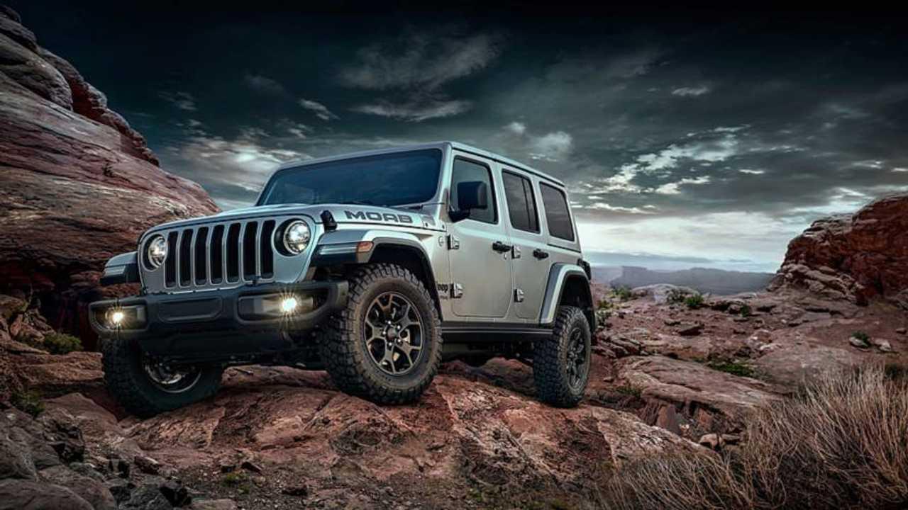 Jeep Wrangler Moab Edition 2019