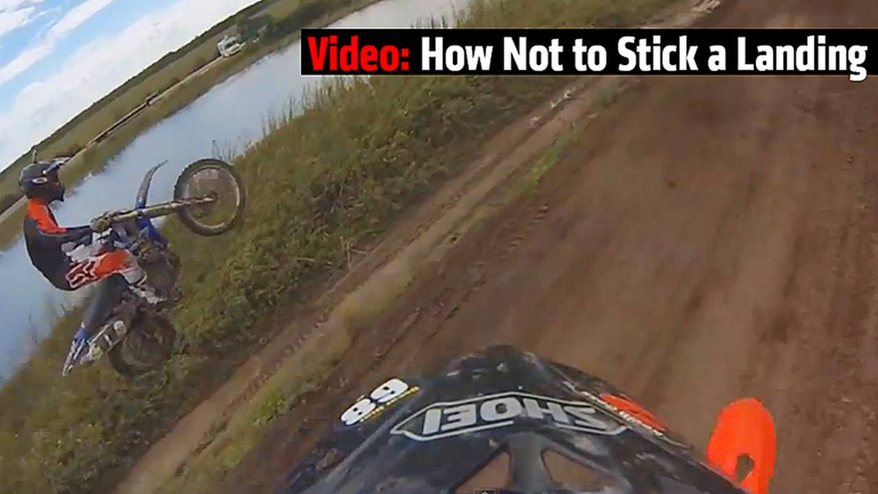 Video: How Not to Stick a Landing