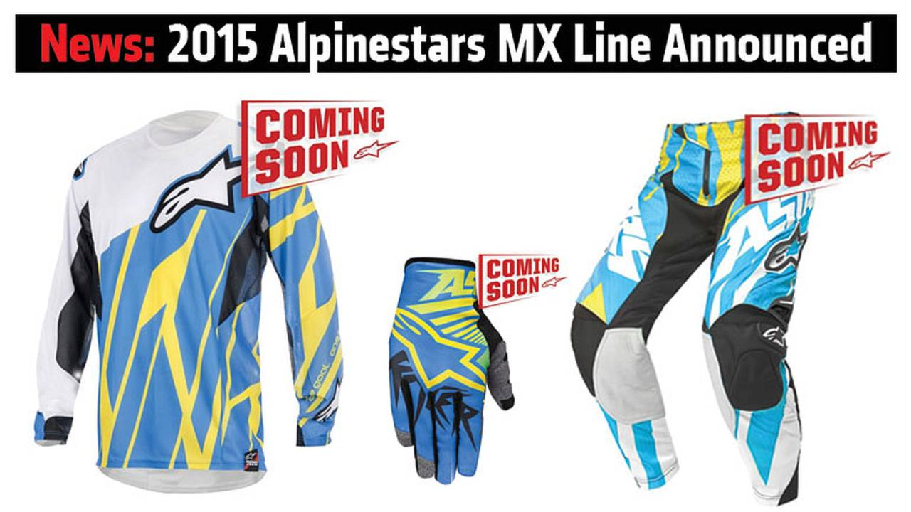 News: 2015 Alpinestars MX Line Announced