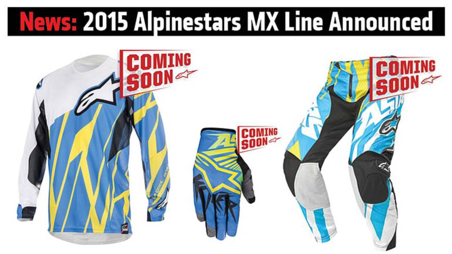 News: 2015 Alpinestars MX Line Announced
