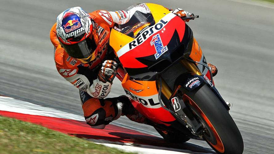 One lap of Sepang with Casey Stoner