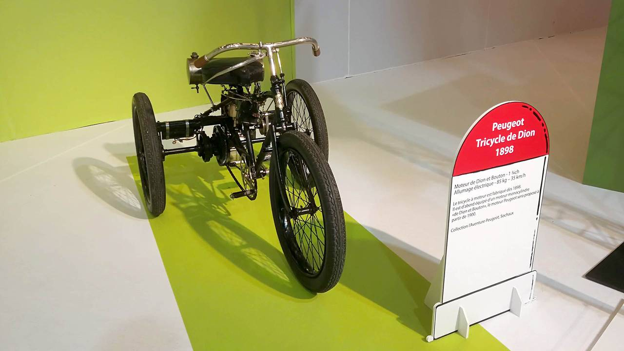 Peugeot Tricycle (1898)