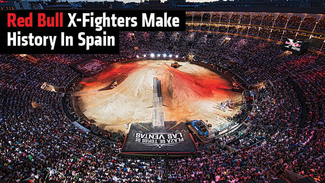 Red Bull X-Fighters Spain Make History