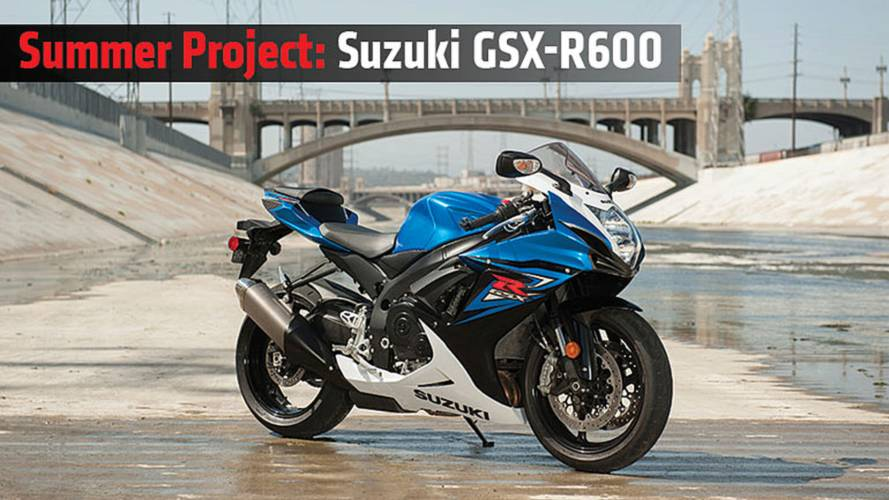 Summer Project: Suzuki GSX-R600