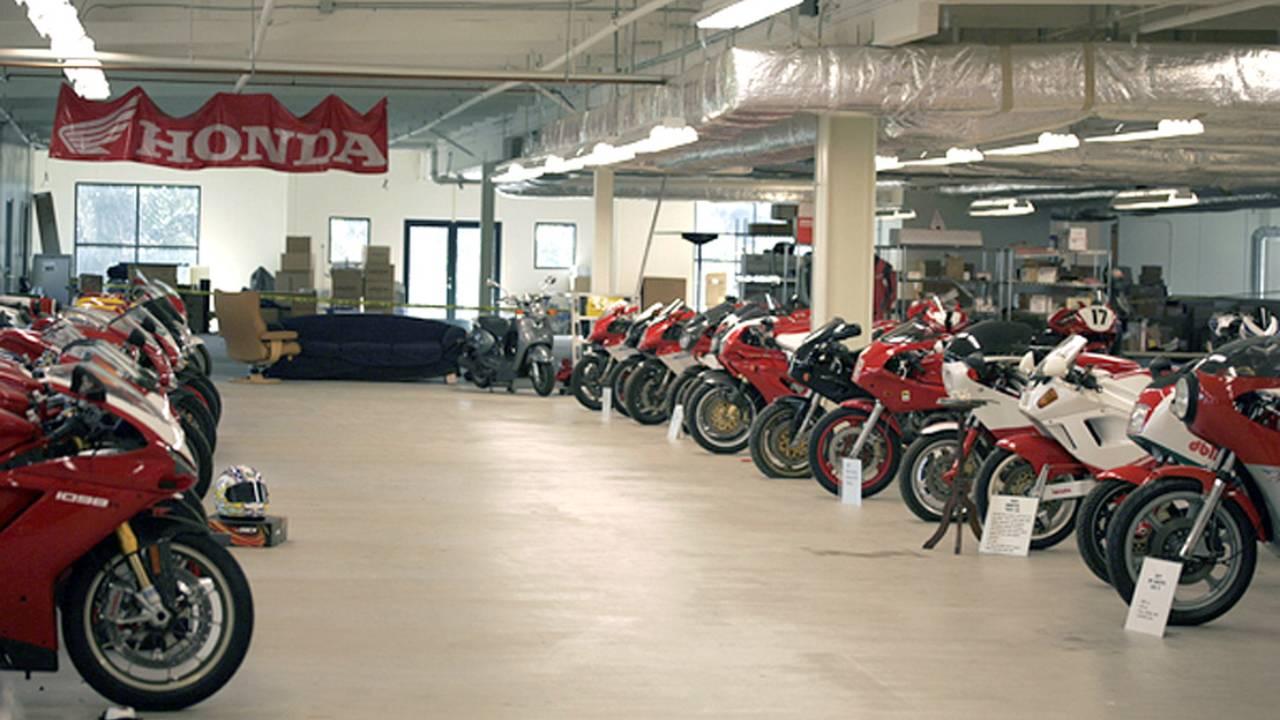 Camarillo's hidden motorcycle collection