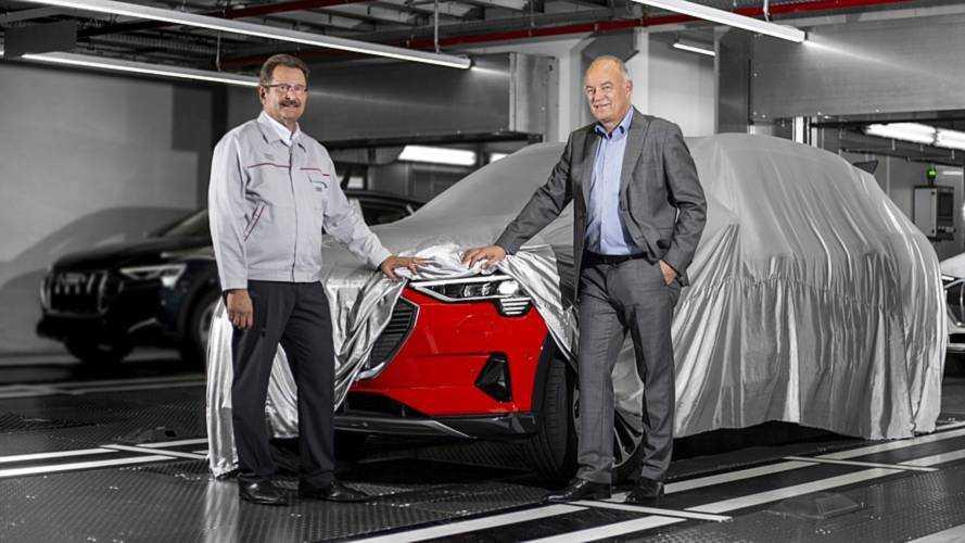 Audi e-tron, il SUV elettrico è già in produzione