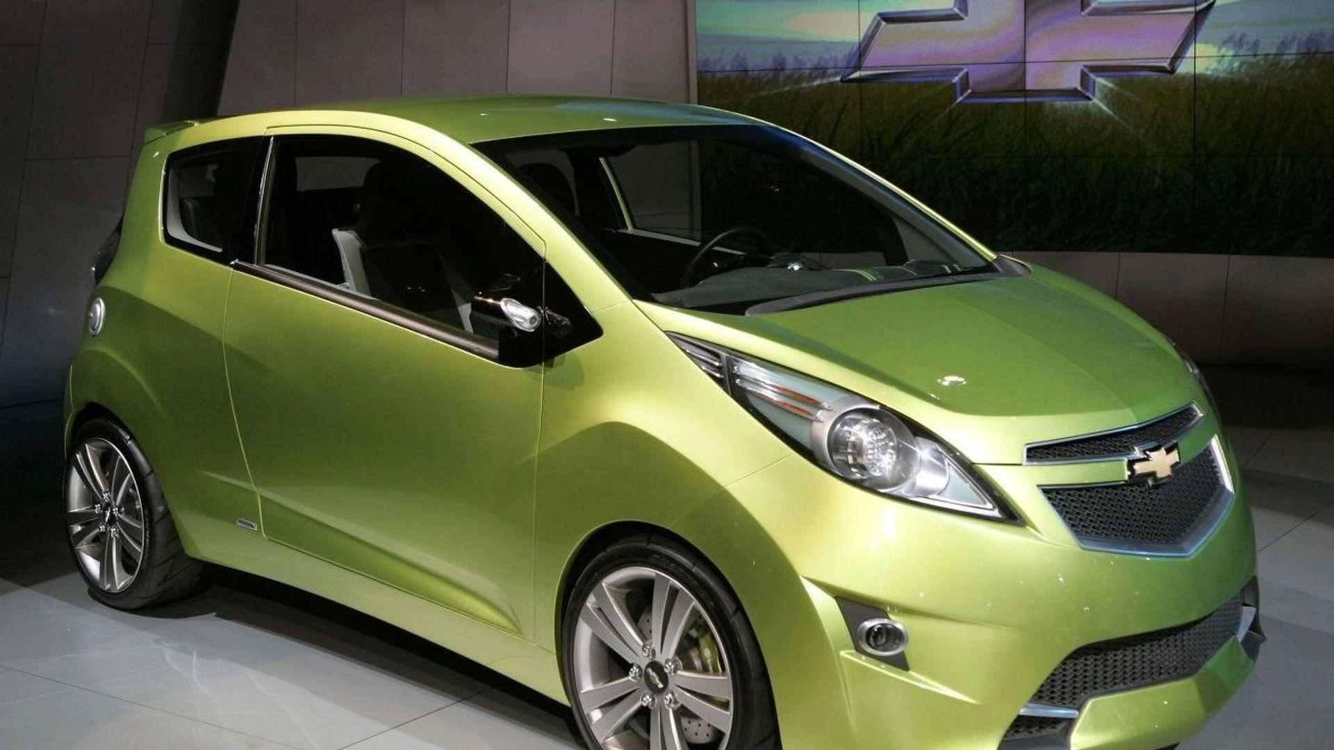 gm daewoo beat mini concept car