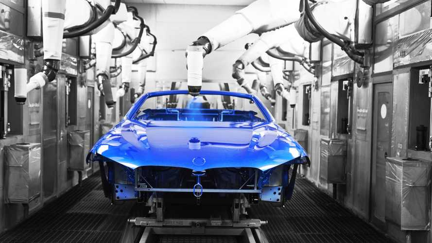 BMW 8 Series Convertible production start