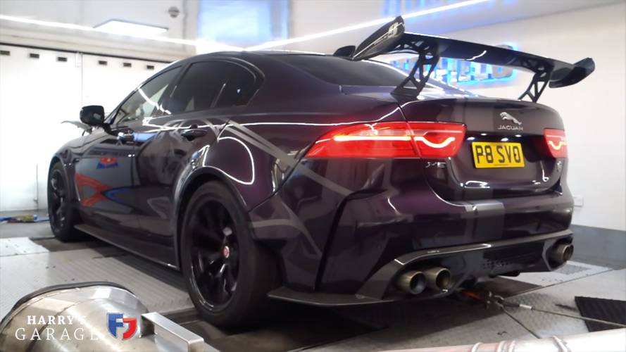 Jaguar XE Project 8 Hits The Dyno To Reveal Real Power Numbers