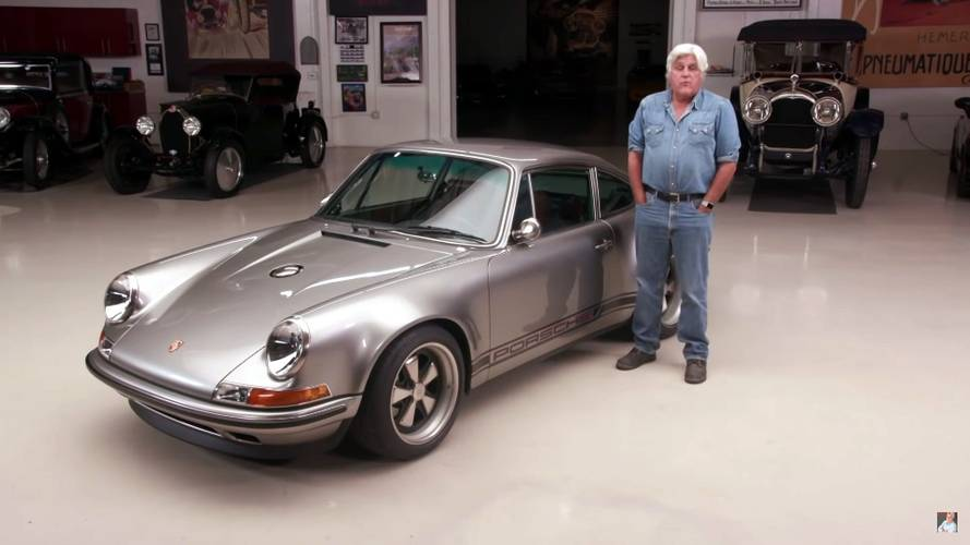 Singer's 100th Porsche 911 resto-mod beautifies Jay Leno's Garage